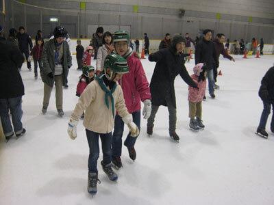 スケートへ行こう!