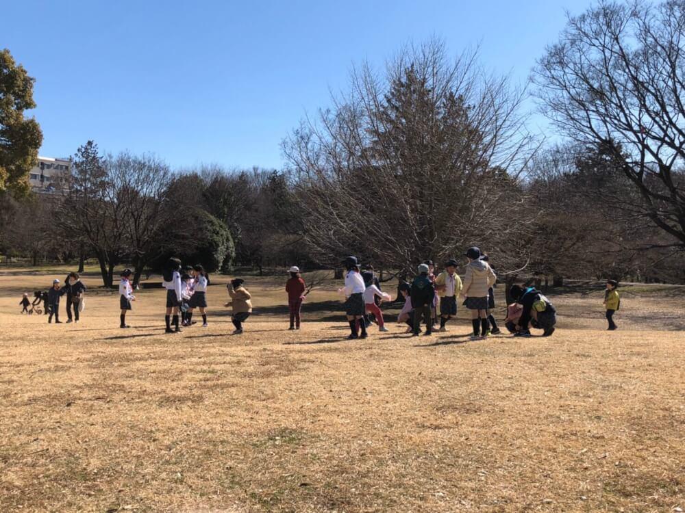 国分寺公園で冬遊び